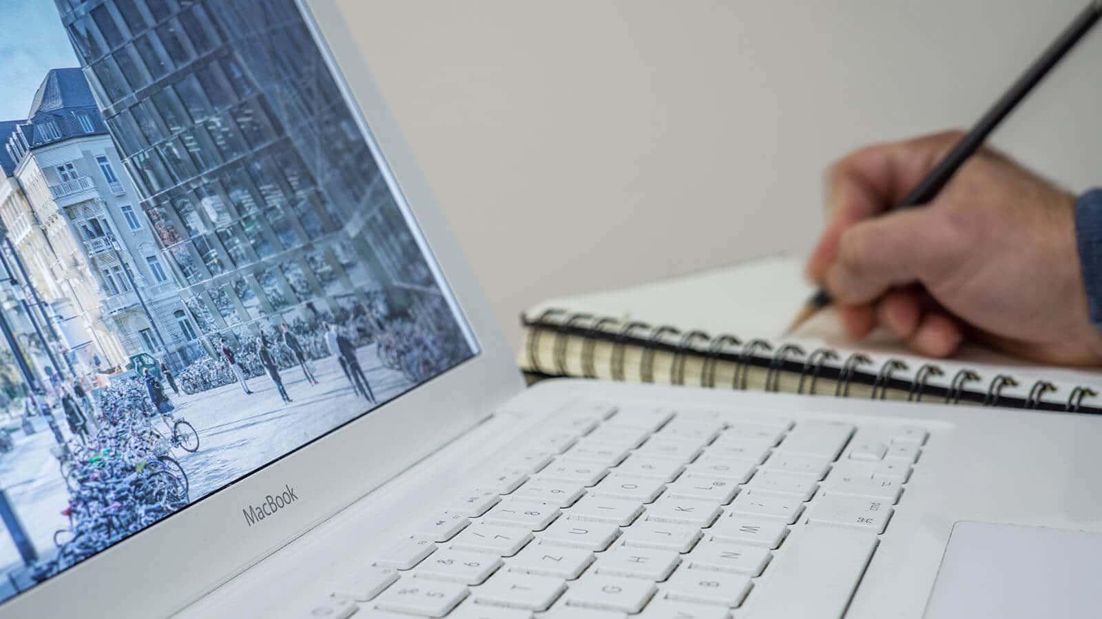 Planung Webdesign