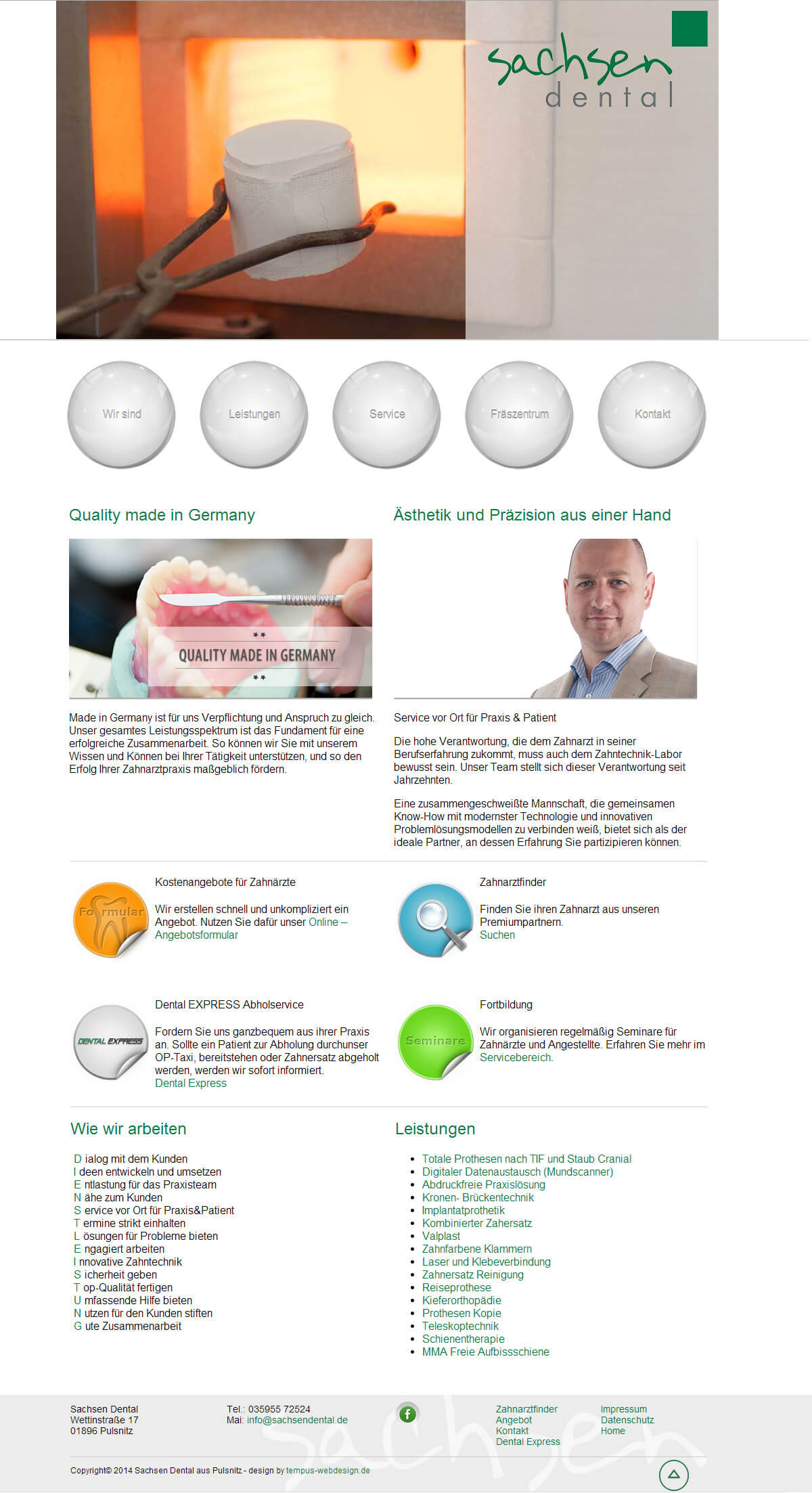 Portfolio Sachsen Dental