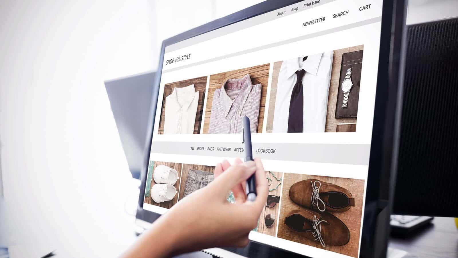 Online Shop Planung