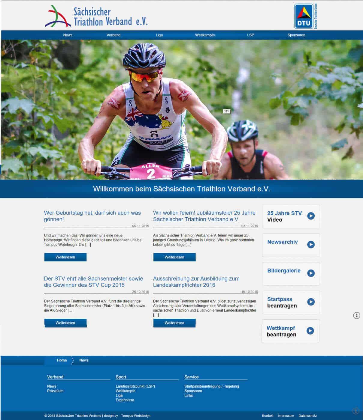 Triathlon Sachsen