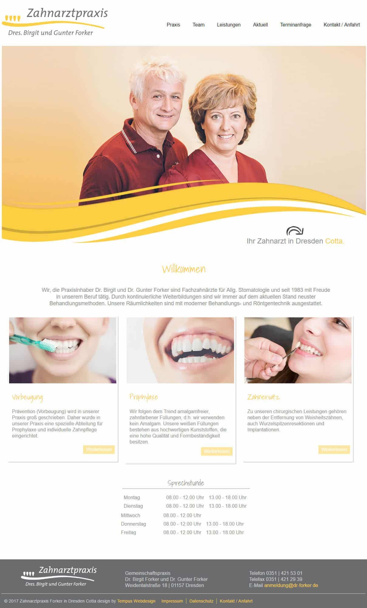 Zahnarzt Praxis Forker